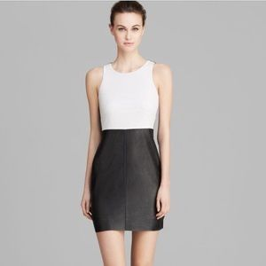 Bailey 44 perforated leather dress